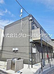 東京都墨田区墨田3丁目の賃貸アパートの外観