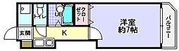 第1ハートビル[3階]の間取り
