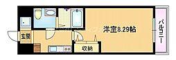 Osaka Metro谷町線 都島駅 徒歩5分の賃貸マンション 3階1Kの間取り