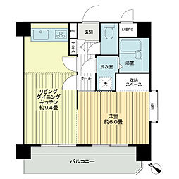 ライオンズマンション熱田神宮公園[8階]の間取り