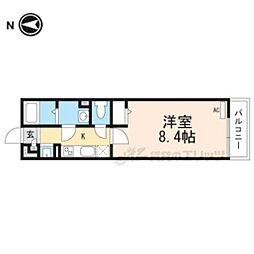 阪急京都本線 摂津市駅 徒歩7分の賃貸アパート 1階1Kの間取り
