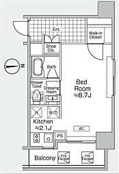 プライムアーバン初台[5階]の間取り