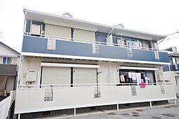 埼玉県吉川市道庭1の賃貸アパートの外観