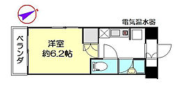 オガワ第3ビル[1101号室]の間取り
