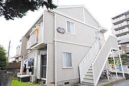 埼玉県越谷市大沢4丁目の賃貸アパートの外観