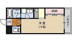 ヴァンヴェール35[203号室号室]の間取り