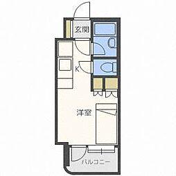 アン・セリジェ弐番館[8階]の間取り