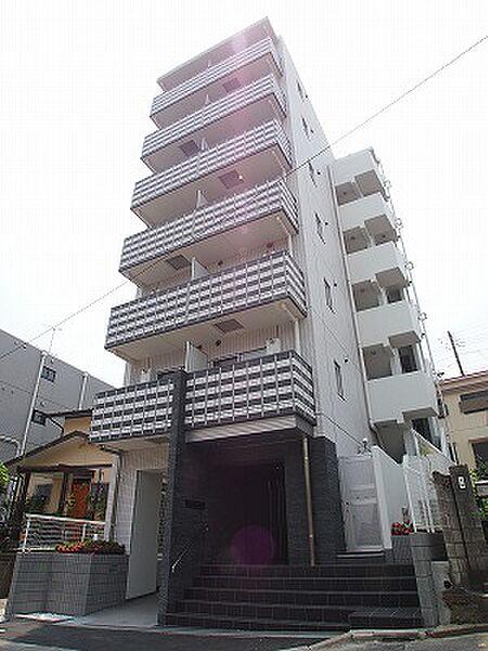 プレミアムキューブ横浜反町[401号室]の外観