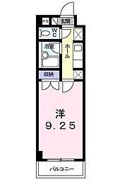 イーアイハイツII[106号室]の間取り