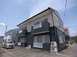 静岡県掛川市大池の賃貸アパートの外観
