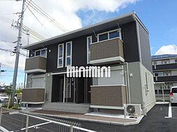 愛知県豊橋市牛川町字西側の賃貸アパートの外観
