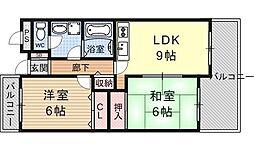 サンサーラ21[506号室号室]の間取り