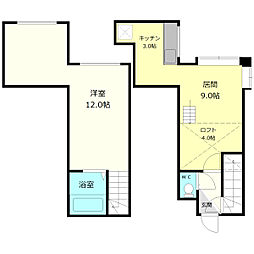 YTS40[2階]の間取り