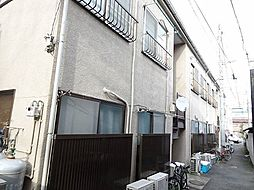 神奈川県横浜市中区本牧元町の賃貸アパートの外観