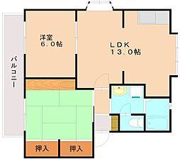 パルハイム[2階]の間取り