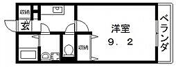 プレミール壱番館[201号室号室]の間取り