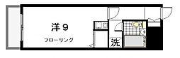 東京都世田谷区池尻1丁目の賃貸マンションの間取り
