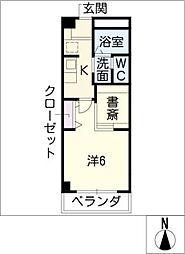 COZY PLACE星ヶ丘[3階]の間取り