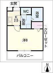 クリサンセマム青山I[2階]の間取り