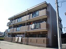 愛知県名古屋市中川区富田町大字千音寺字赤星裏の賃貸マンションの外観