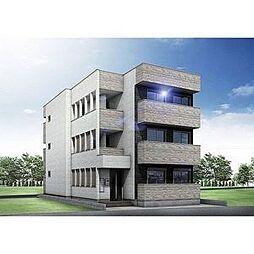 (仮称)幸心2丁目新築アパート B棟[2階]の外観