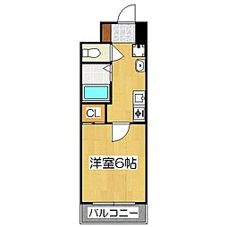 S-FORT京都西大路(旧:グランドパレス西大路七条)[7階]の間取り