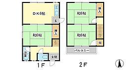 [一戸建] 兵庫県姫路市北今宿3丁目 の賃貸【兵庫県 / 姫路市】の間取り