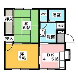 [一戸建] 三重県伊勢市小俣町宮前 の賃貸【/】の間取り