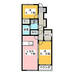 NEXT[1階]の間取り