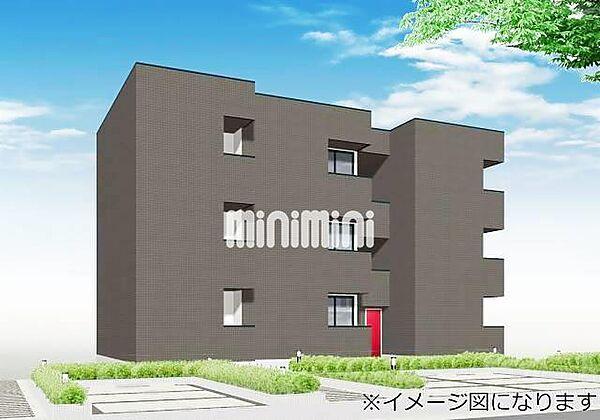 愛知県名古屋市南区三吉町2丁目の賃貸アパートの外観