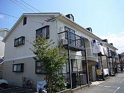 福岡県糟屋郡粕屋町大字内橋の賃貸アパートの外観