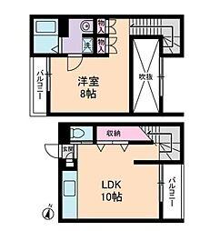 京急本線 新馬場駅 徒歩6分の賃貸マンション 1階1LDKの間取り