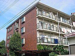 京都府城陽市平川古宮の賃貸マンションの外観
