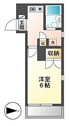 レオパレスRX豊田本町[3階]の間取り
