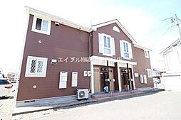 岡山県岡山市南区浜野2丁目の賃貸アパートの外観