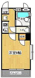 コンフォートマンション下町第2[931号室]の間取り