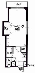 OSマンション[1階]の間取り