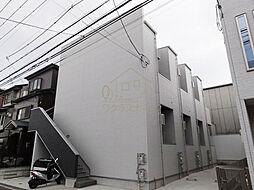 大阪府堺市堺区出島海岸通2丁の賃貸アパートの外観