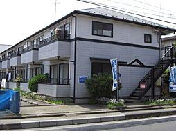 千葉県我孫子市高野山の賃貸アパートの外観