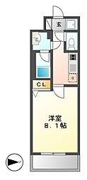 コンフォリア新栄[12階]の間取り