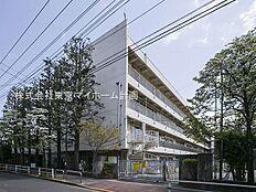 小学校 1100m 武蔵野市立境南小学校