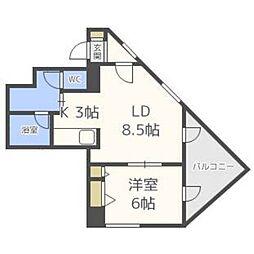 さんぱちBLD[4階]の間取り