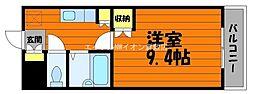 岡山県倉敷市玉島の賃貸マンションの間取り