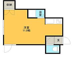 エトワール文京台[4階]の間取り