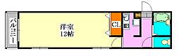 ミリアビタ実籾B[1階]の間取り
