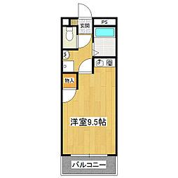 安彦ビル[2階]の間取り