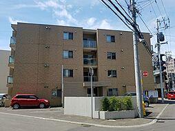 北海道札幌市中央区北6条西25丁目の賃貸マンションの外観