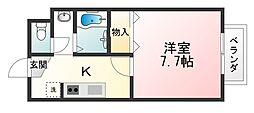 Chambre[2階]の間取り