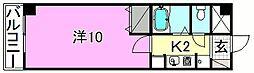 ベルメゾン福音寺[113 号室号室]の間取り