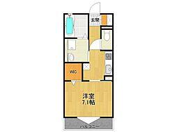 仮)小林新築ハイツ[1階]の間取り